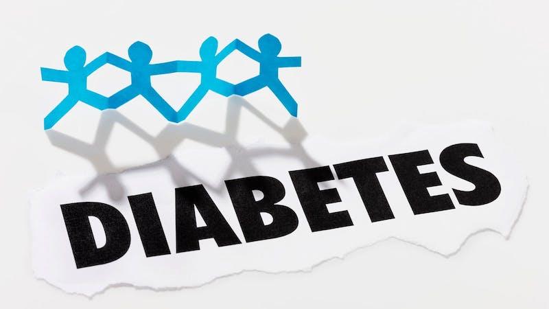 Diabetes-concept