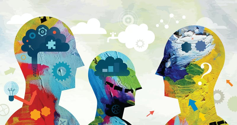 Mental Power Concept