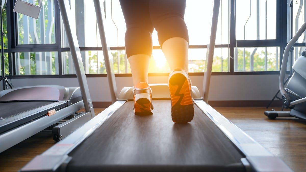 Svårt minska i vikt bara genom att träna