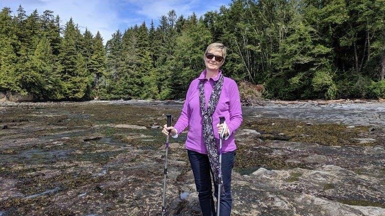 Adele, 56 år: 20 år med LCHF, 27 kilo lättare och full fart framåt