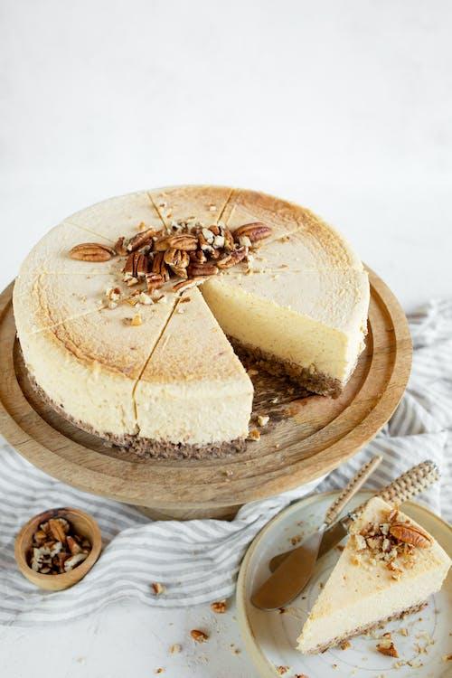 LCHF-cheesecake med pekanbotten