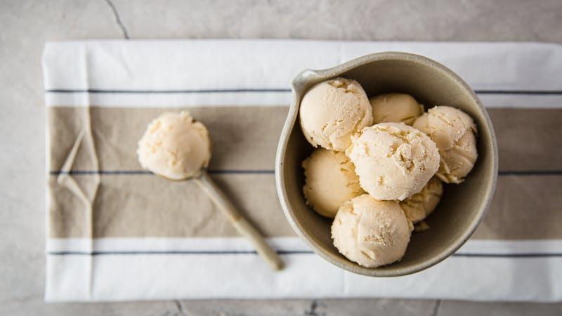 Mejerifri LCHF-glass med smak av vanilj