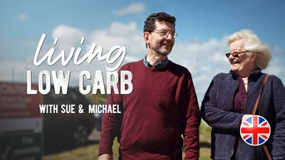 Living low carb med Sue Jones & Michael