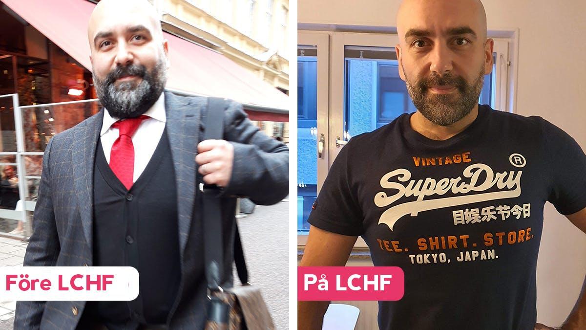 """""""Jag och min familj har aldrig mått bättre än på LCHF"""""""