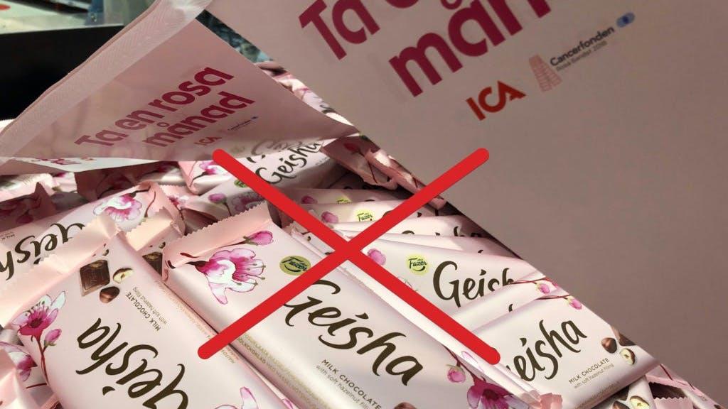 Svar från Cancerfonden: Vi ska inte proppas oss fulla med geisha