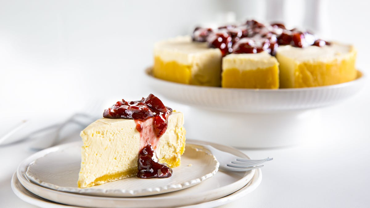 No bake LCHF-cheesecake