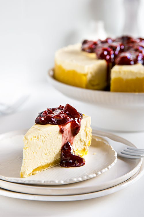 No bake LCHF-cheesecake