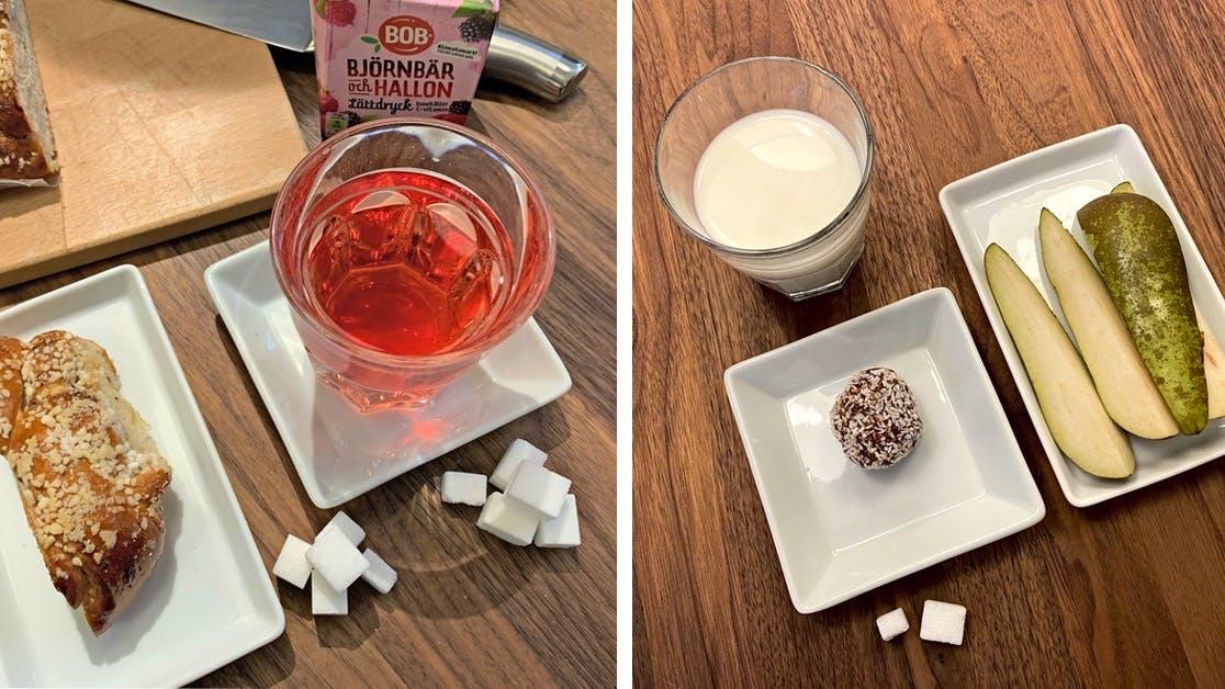 Så minskar du på sockret till ditt barn