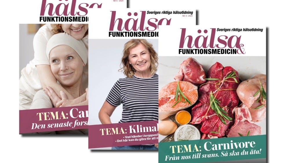 Tidningen Hälsa & Funktionsmedicin – erbjudande för dig som är medlem!