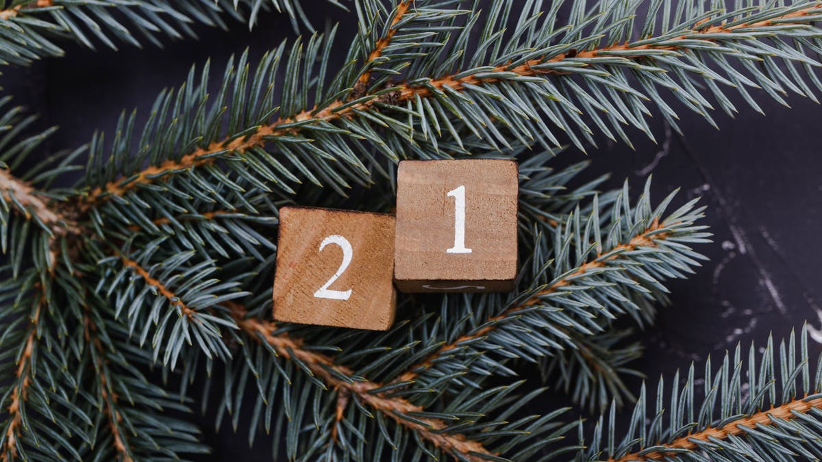 Lucka 21 - att sätta upp mål inför det nya året!