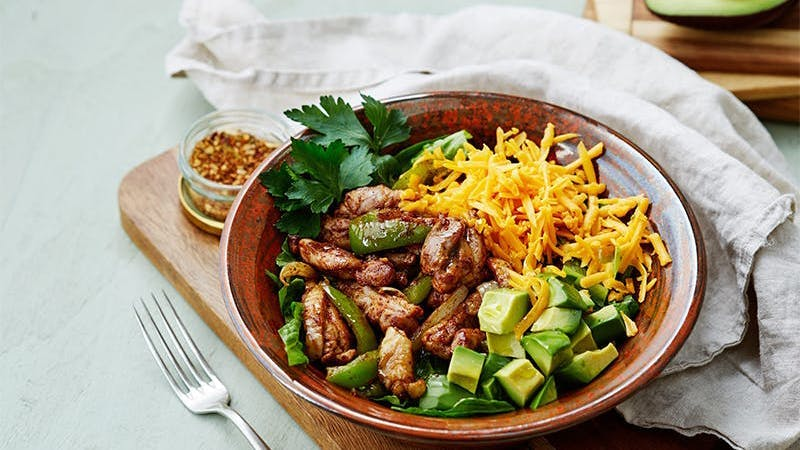 low-carb-fajita-bowl