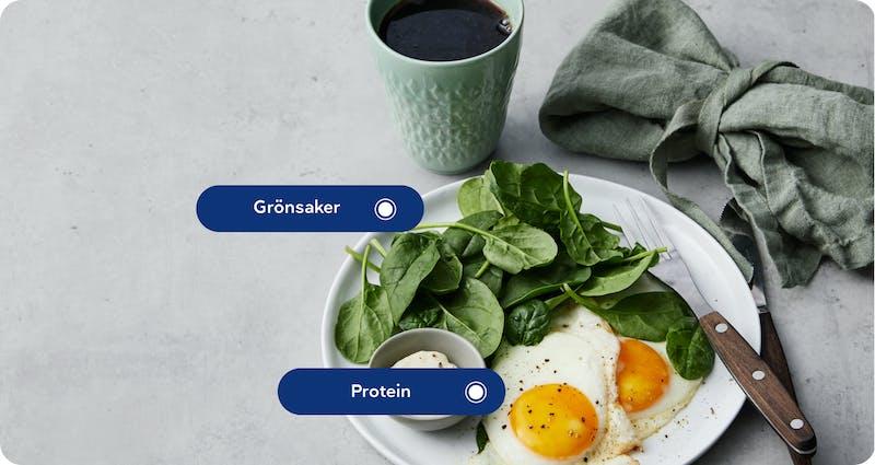 Grönsaker protein