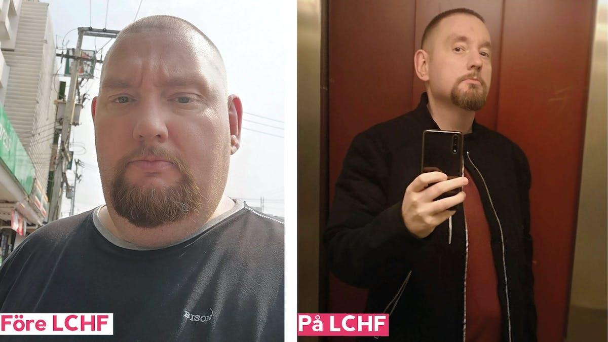 Jim gick ner närmare 50 kilo med hjälp av strikt LCHF