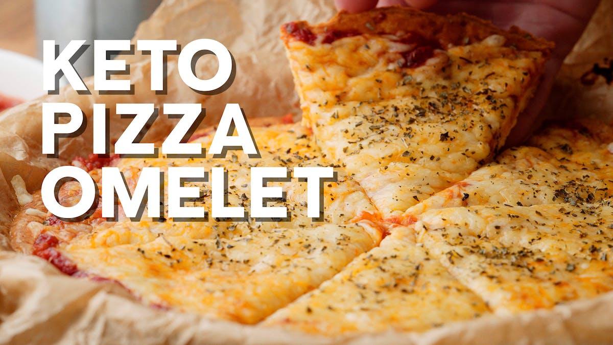 Matlagningsvideo: Pizza-omelett
