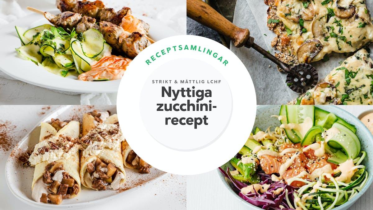 Nyttiga zucchini-recept