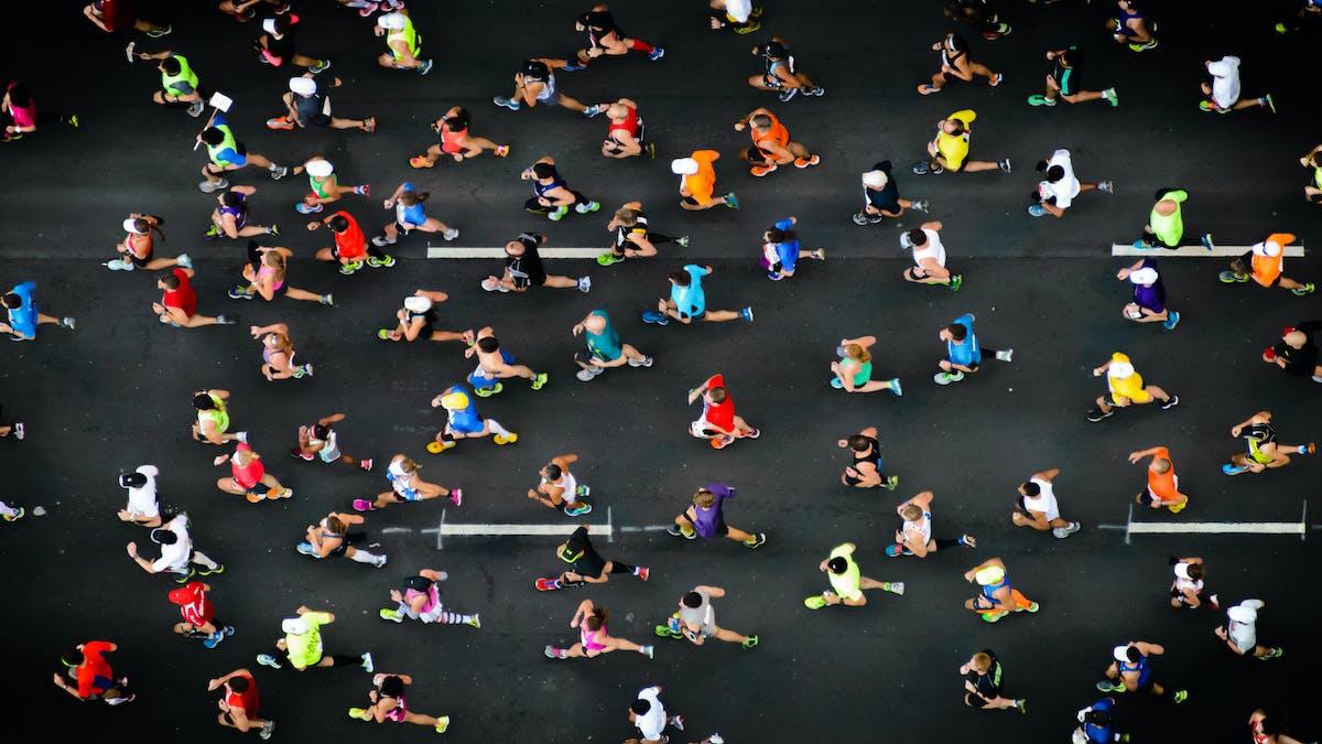 LCHF-sportdryck till en marathonlöpare?