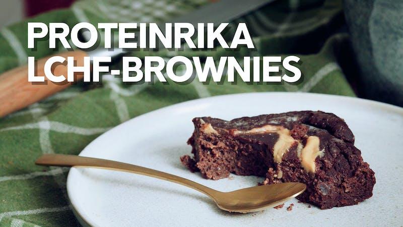 Video: Proteinrika LCHF-brownies