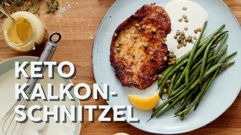 Video: Kalkonschnitzel à la keto