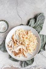 Grillad kyckling med läcker coleslaw