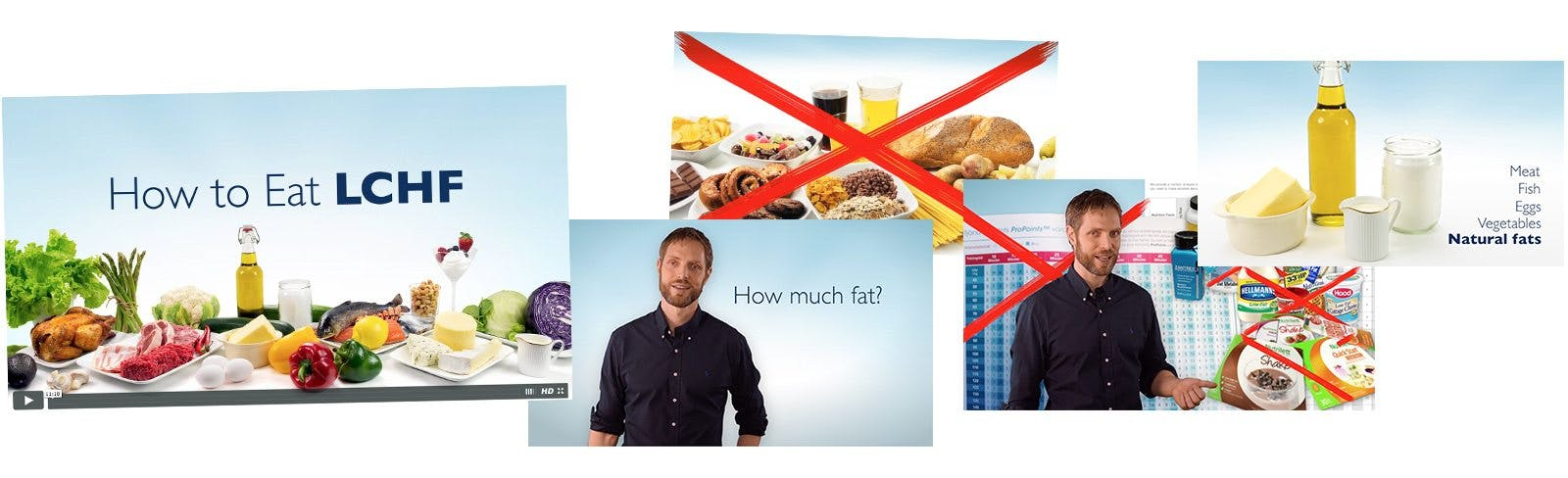 How to Eat LCHF Video Course