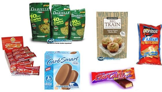 Low carb junk food
