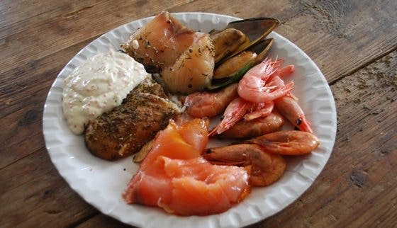 LCHF seafood