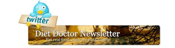 Diet Doctor newsletter and Twitter