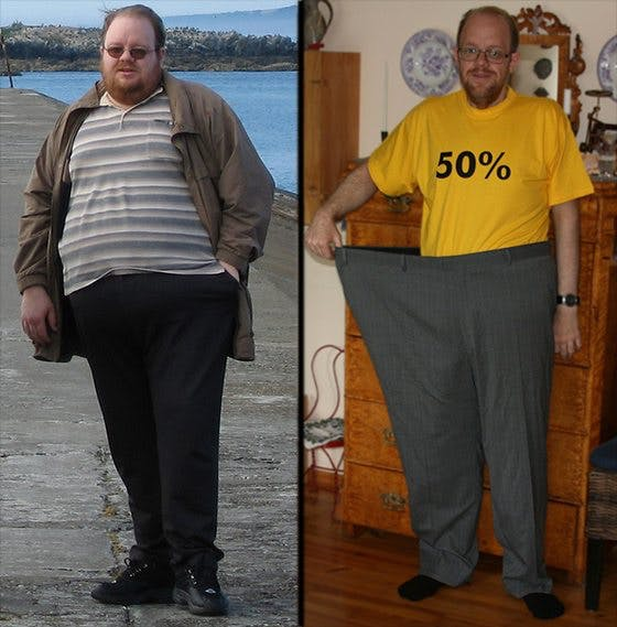 How to lose 196 pounds without hunger