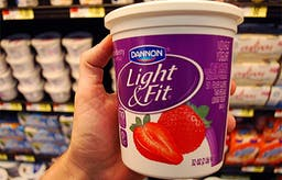 Why Americans are obese: nonfat yogurt