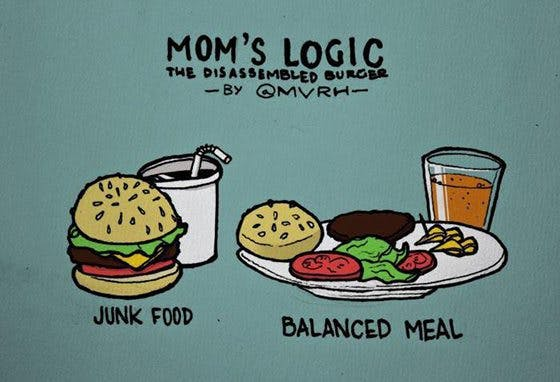 The problem with a balanced diet