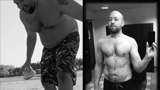 Before and after one year of LCHF
