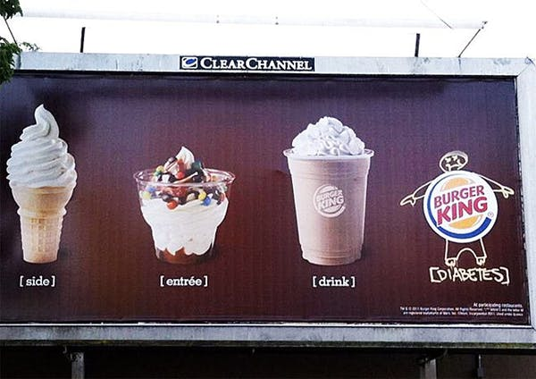 Diabetes at Burger King