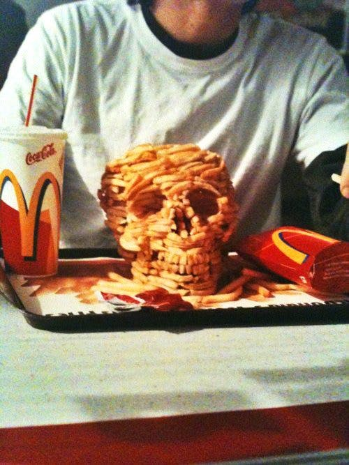 Death by fast food