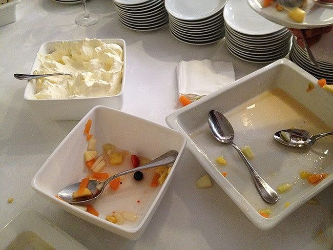 Fear of Cream at the Nutrition Conference