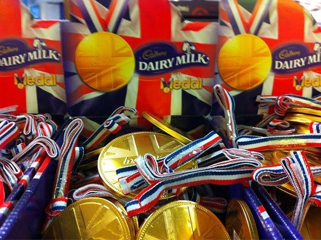 Cadbury Medal 650