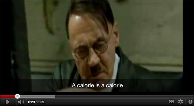 Hitler Was a Calorie Counter
