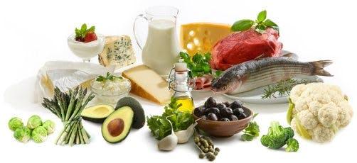 Real LCHF food