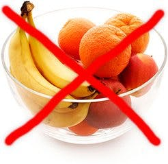 How to lose weight: Avoid fruit