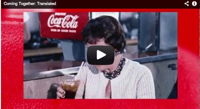 The New, Honest Coca Cola Ad