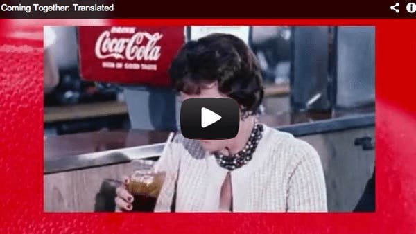 The new, honest Coca-Cola ad