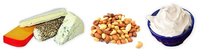 Lose Weight by Cutting Down on Dairy Products and Nuts