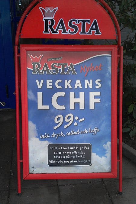 Swedish Truck Drivers Can Now Eat LCHF Almost Anywhere