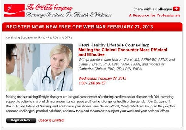 Is Your Dietitian Educated by The Coca Cola Company? - Diet Doctor
