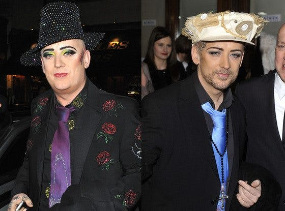 Boy George loses weight without sugar or bread