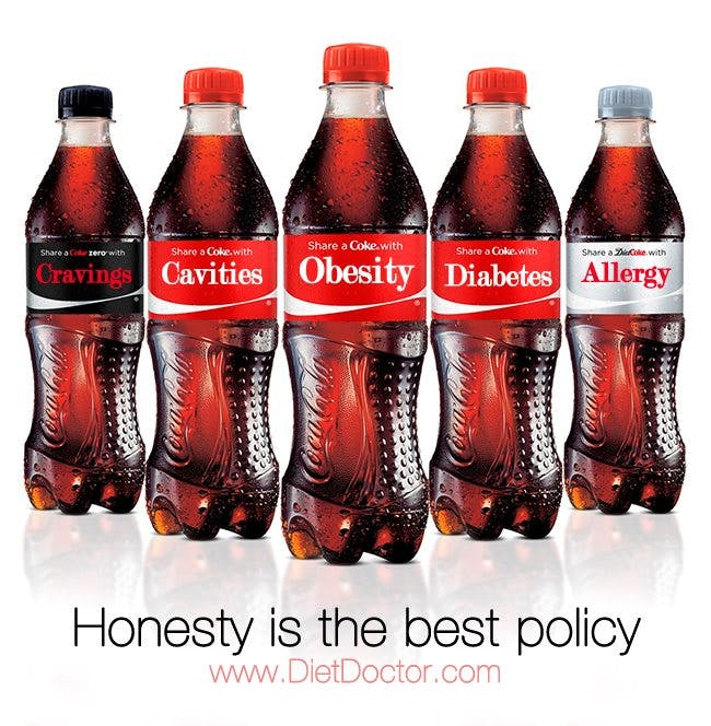 Share a Coke with... obesity, diabetes, etc.