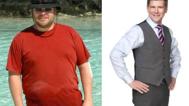 Johan lost 126 pounds on a LCHF diet