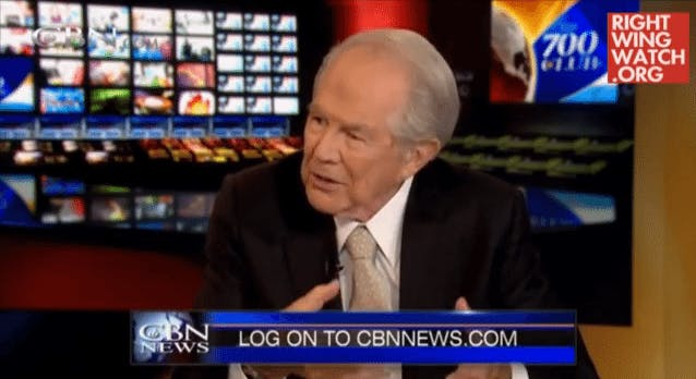 Pat Robertson Claims Low-Carb Diet 'Violates' God's Principles