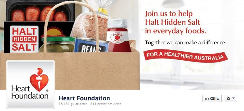 Heart Foundation Facebook Page in Crisis Mode after TV Show - Diet ... 370d1e53ea85d
