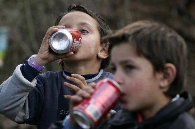 Aggressive Children with Attention Problems Drink Lots of Soda