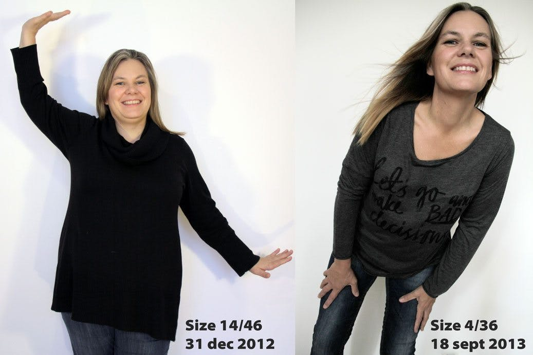 Dropped ten dress sizes with LCHF!